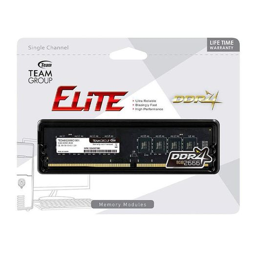 Memoria-TeamGroup-TED48G2666C19BK8GB-DDR4-2666MHZ