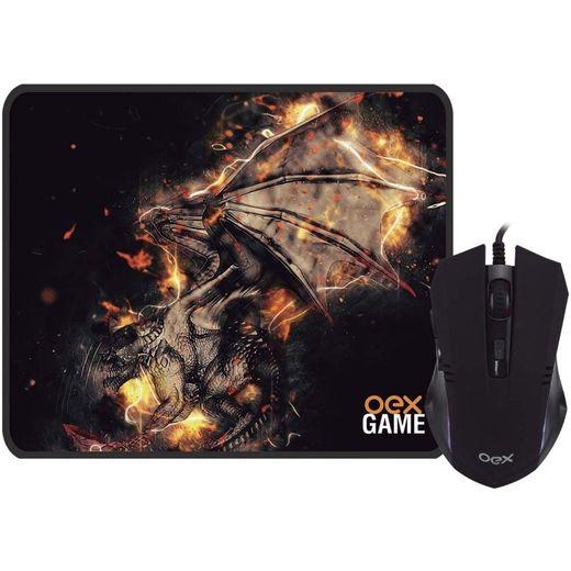 kit-mouse-gamer-mousepad-oex-arena-2400-dpi-preto-mc102-001